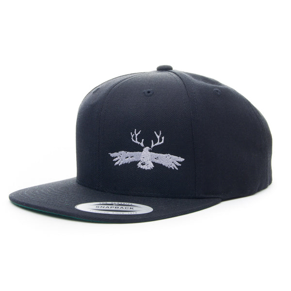 Lakes & Legends Black Snapback Hat