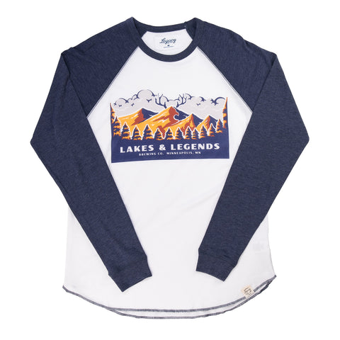 Lakes Legends National Park shirt white/navy