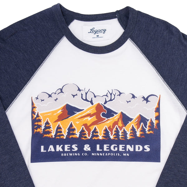 Lakes & Legends National Parks T-Shirt