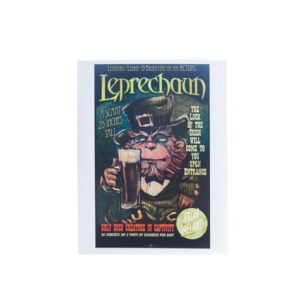 """Leprechaun Sideshow"" Card by Tim Nyberg"