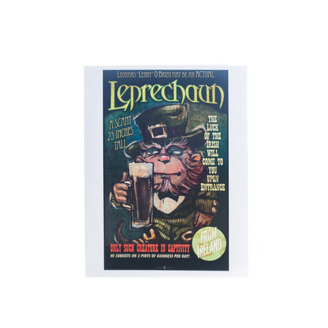 Leprechaun Sideshow Card by Tim Nyberg