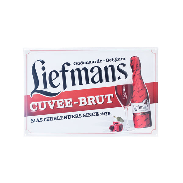Liefmans Cuvee-Brut Tin Tacker