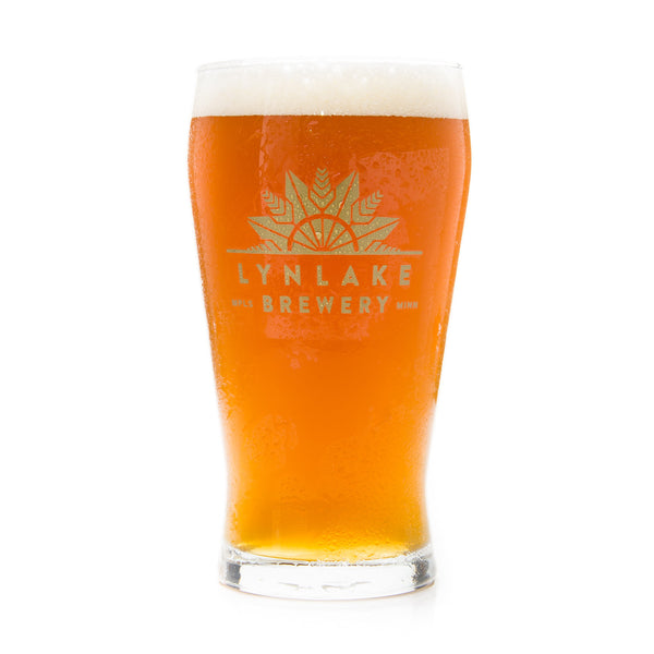 LynLake Brewery Pint Glass