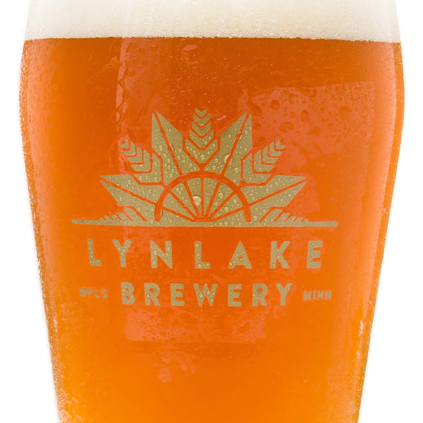 LynLake Brewery Imperial Pint Glass