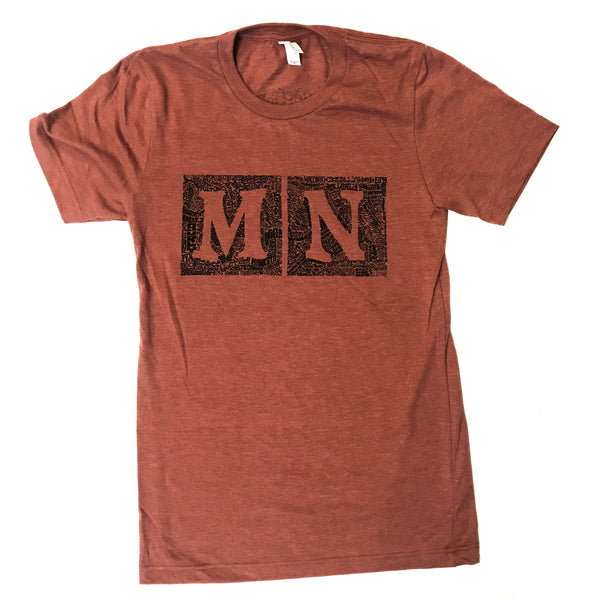 MN Brewery Squares by Jeff Nelson T-Shirt