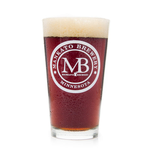 Mankato Brewery Pint Glass