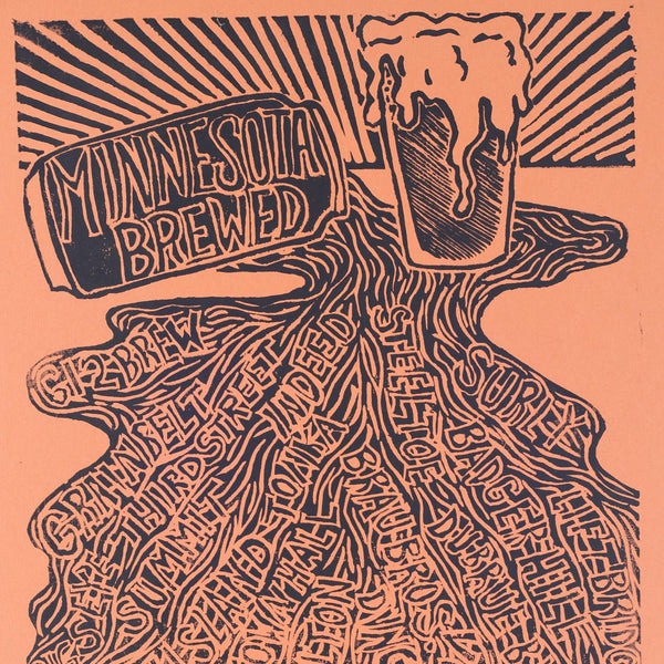 """Minnesota Beer Spill"" by Jette Art"