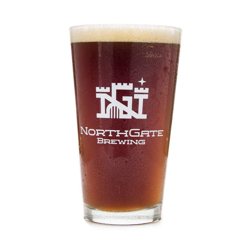 NorthGate Brewing Pint Glass