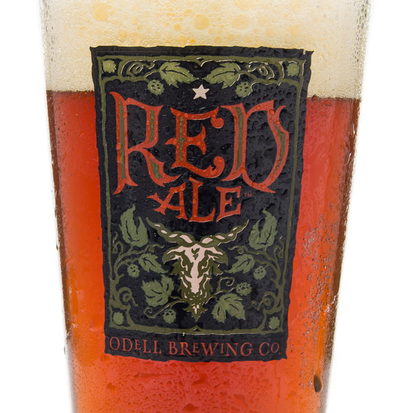 Odell Red Ale Pint Glass