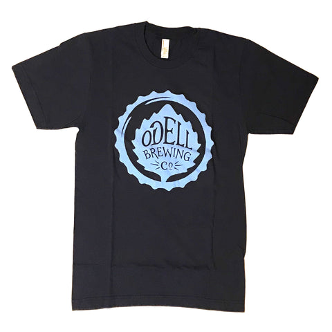 Odell Brewing Co. Navy Logo T-Shirt