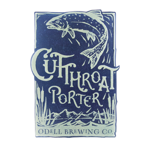 Odell Cutthroat Porter Tin Tacker