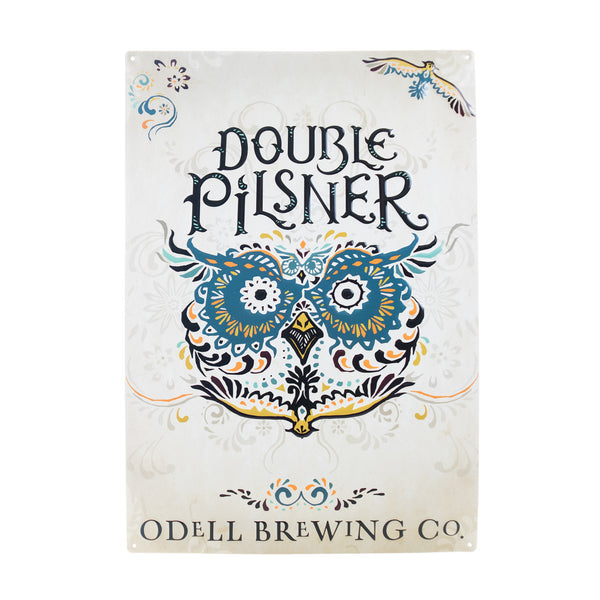 Odell Double Pilsner Tin Tacker