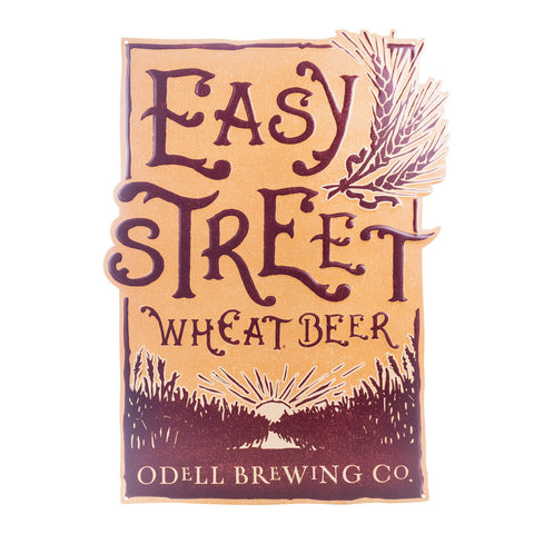 Odell Easy Street Wheat Tin Tacker