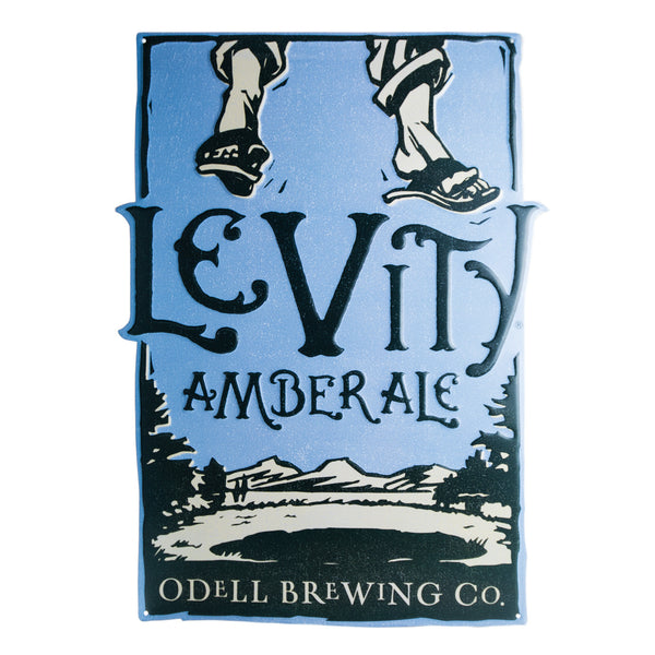 Odell Levity Amber Ale Tin Tacker