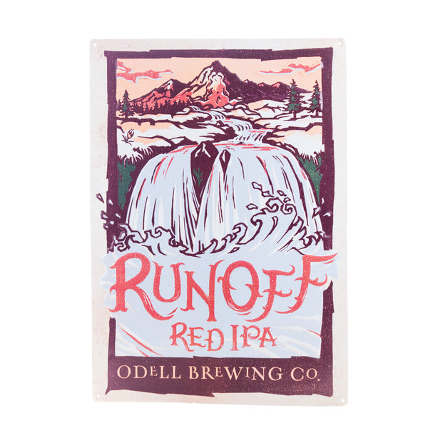 Odell Runoff Red IPA Tin Tacker