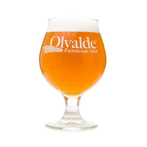 Olvalde Farm and Brewing Company Tulip Glass