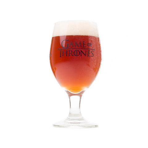 "Brewery Ommegang Game of Thrones ""Fire and Blood"" Tulip Glass"