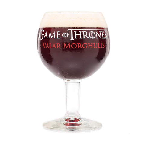 "Ommegang Game of Thrones ""Valar Morghulis"" Goblet"