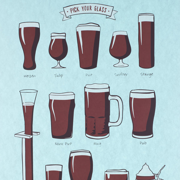 """Pick Your Glass"" by Dogfish Media"