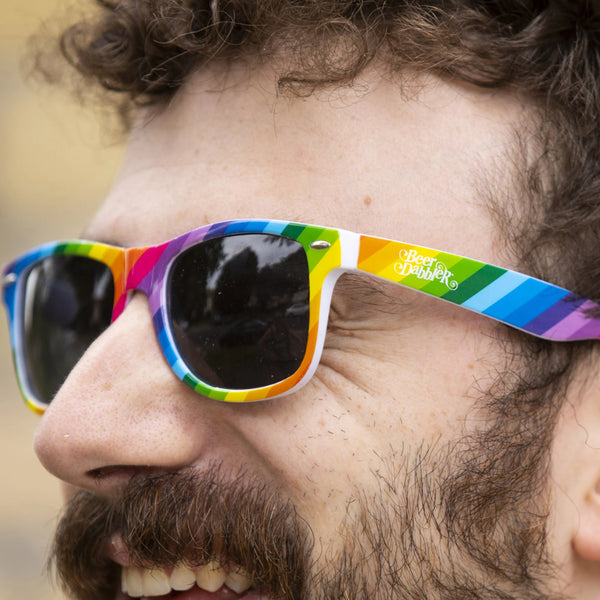 Beer Dabbler Rainbow Sunglasses