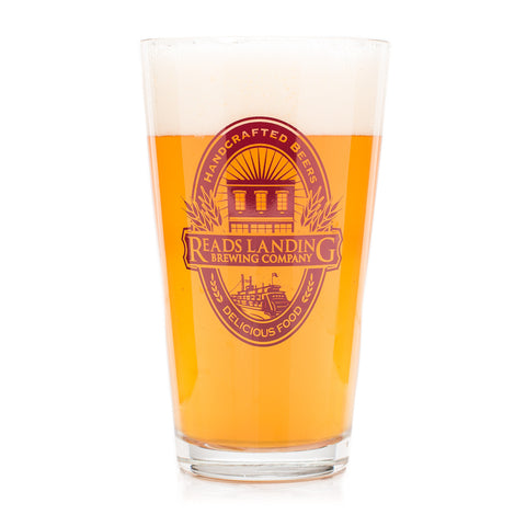 Read's Landing Brewery Logo Pint Glass