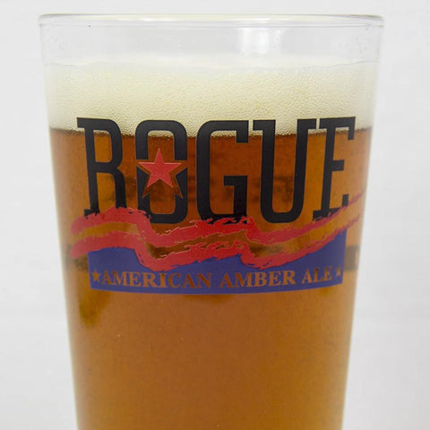 Rogue Brewery American Amber pint glass