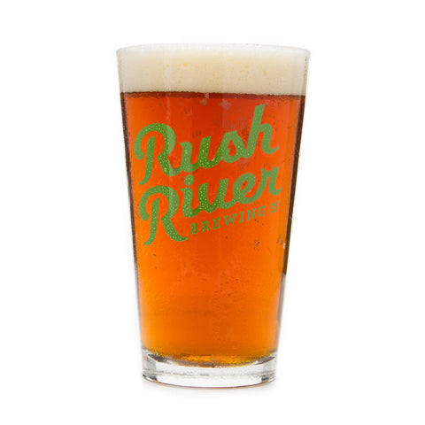 Rush River Brewing Co Pint Glass