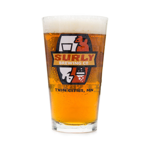 Surly Brewing Pint Glass