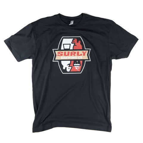 Surly Brewing Logo T-Shirt (Black)