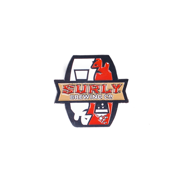 Surly Brewing Enamel Pin