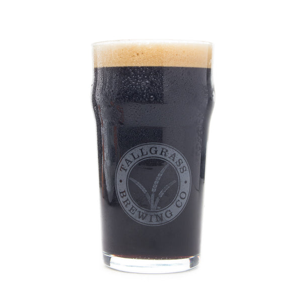 Tallgrass Brewing Nonic Pint Glass