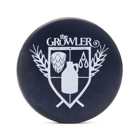 The Growler Hockey Puck Bottle Openers