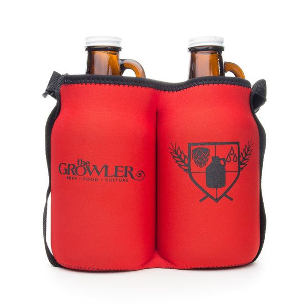 Mini Growler Double Brewsie Neoprene Bag