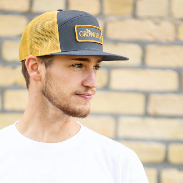 """The Lance"" Flat Brimmed Trucker Hat"