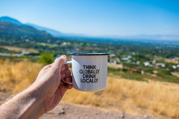 Think Globally Drink Locally Mug