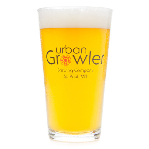 Urban Growler Pint Glass