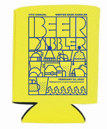 2020 Winter Beer Dabbler Event Koozie
