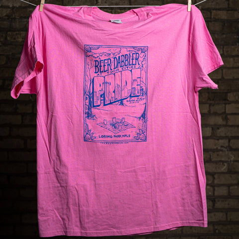 2013 Pride Beer Dabbler Event T-Shirt