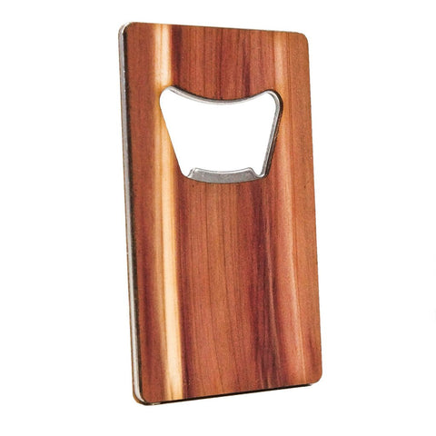Credit Card Bottle Opener by Woodchuck USA