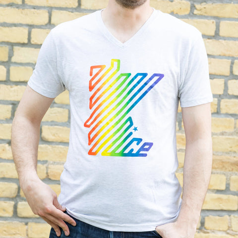 Rainbow Minnesota Nice by Garth MPLS T-Shirt