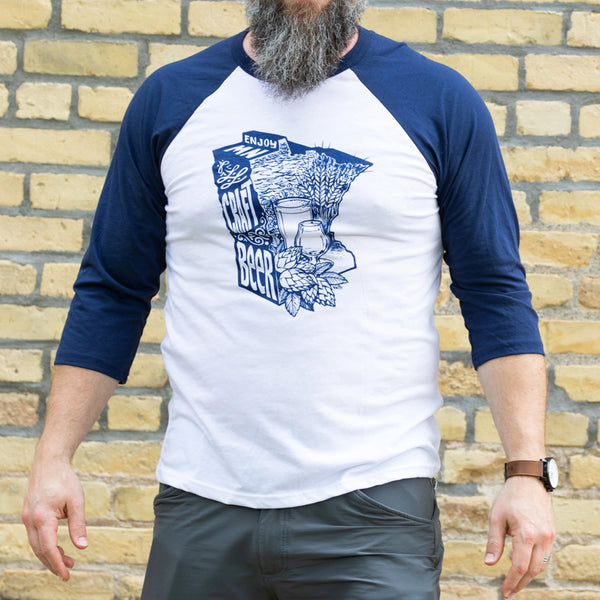 Enjoy MN Craft Beer by DWITT Raglan
