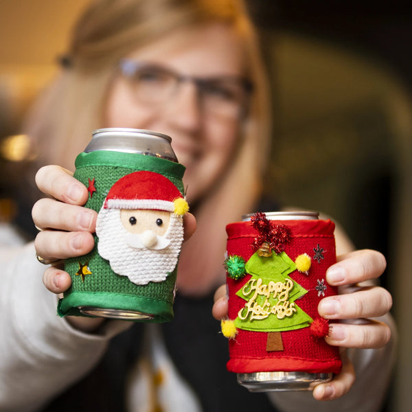 Ugly Sweater Can Holder
