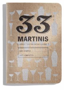 33 Martinis Tasting Notebook