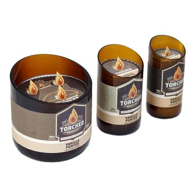 Vanilla Porter Recycled Glassware Candle