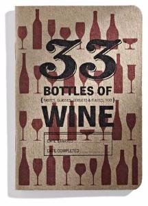 33 Bottles of Wine Tasting Notebook