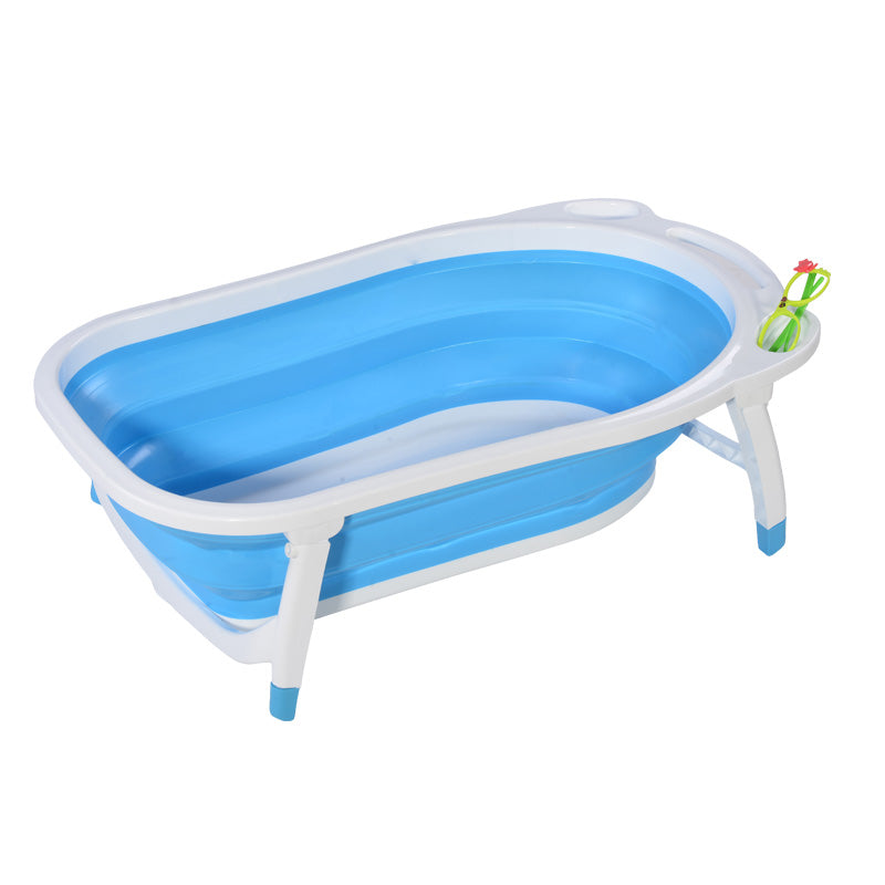 Foldable Bathtub for Babies ( Model ZX2088) GREEN