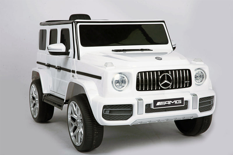 Mercedes Benz AMG G63 Licensed 12V 7Ah Battery Powered Electric Ride On Toy Car , Bluetooth, FM, MP3 ( For 3-6 Years Old)