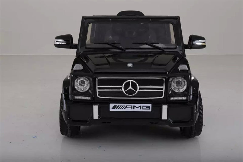 12V 7Ah Battery Powered Mercedes-Benz G65 Licensed Twin Motor Electric Ride on Toy Car  (Model: LS528 ) WHITE