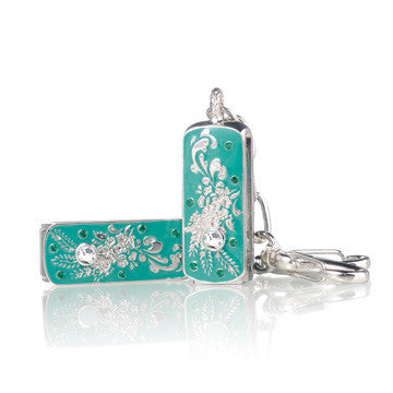 8GB 12-047 Jewellery Swarovski Elements USB 2.0 Flash Drive Memory Thumb Stick