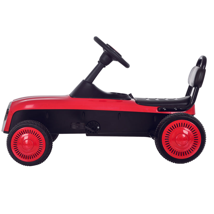 3-8 Year Old Kids Outdoor Go Kart with Foot Pedal and Brake Lever (Model: K02) RED